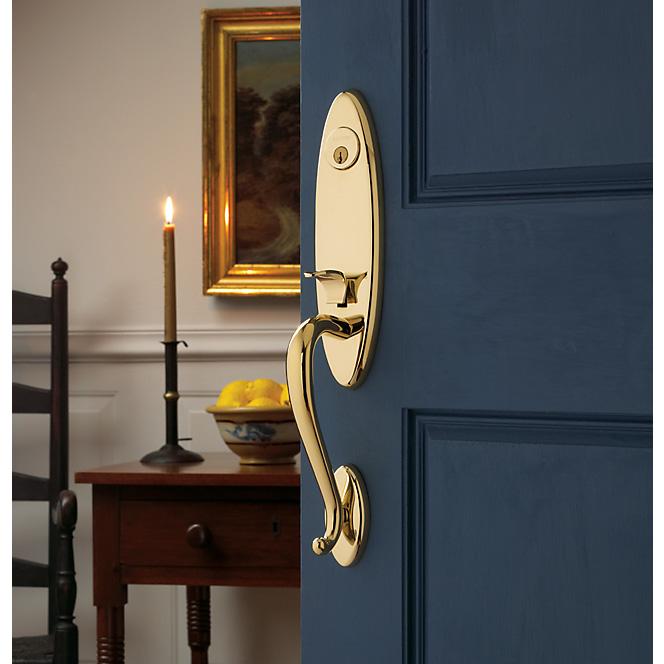 baldwin blue gold handle