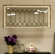 Simulated Leaded Glass