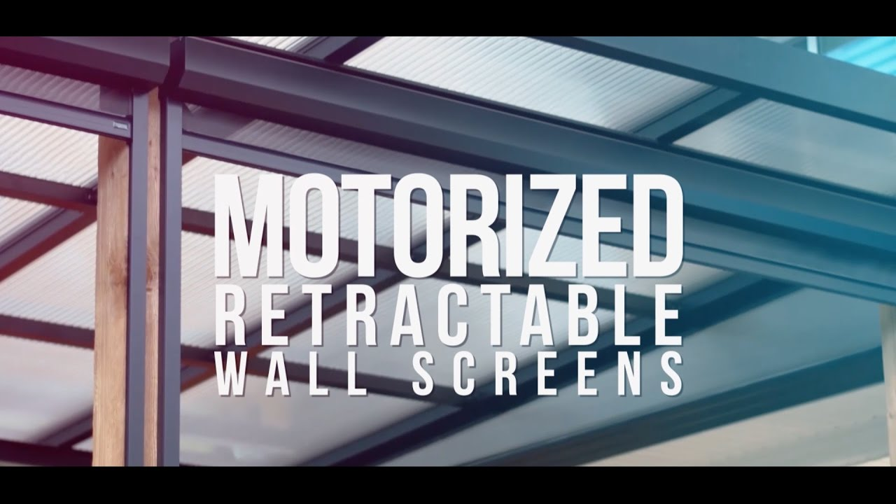 Motorized Retractable Wall Screens by Phantom Screens