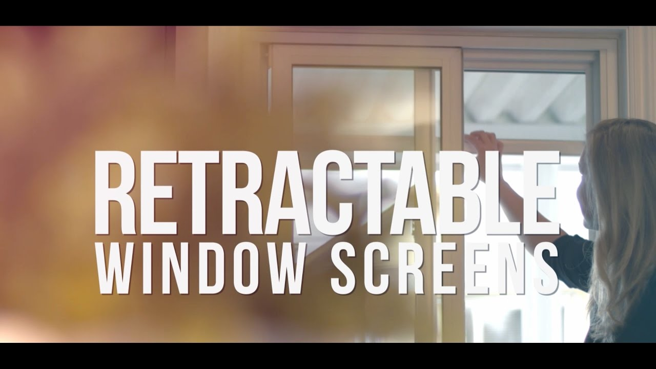 Retractable Window Screens by Phantom Screens