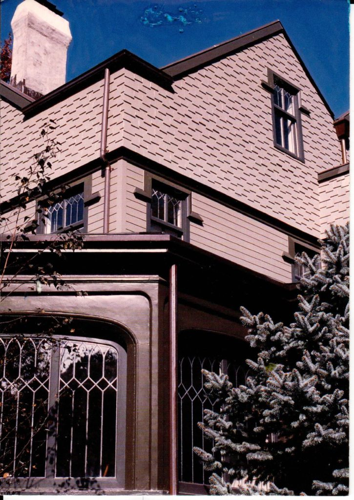 Simulated Leaded Glass Exterior View