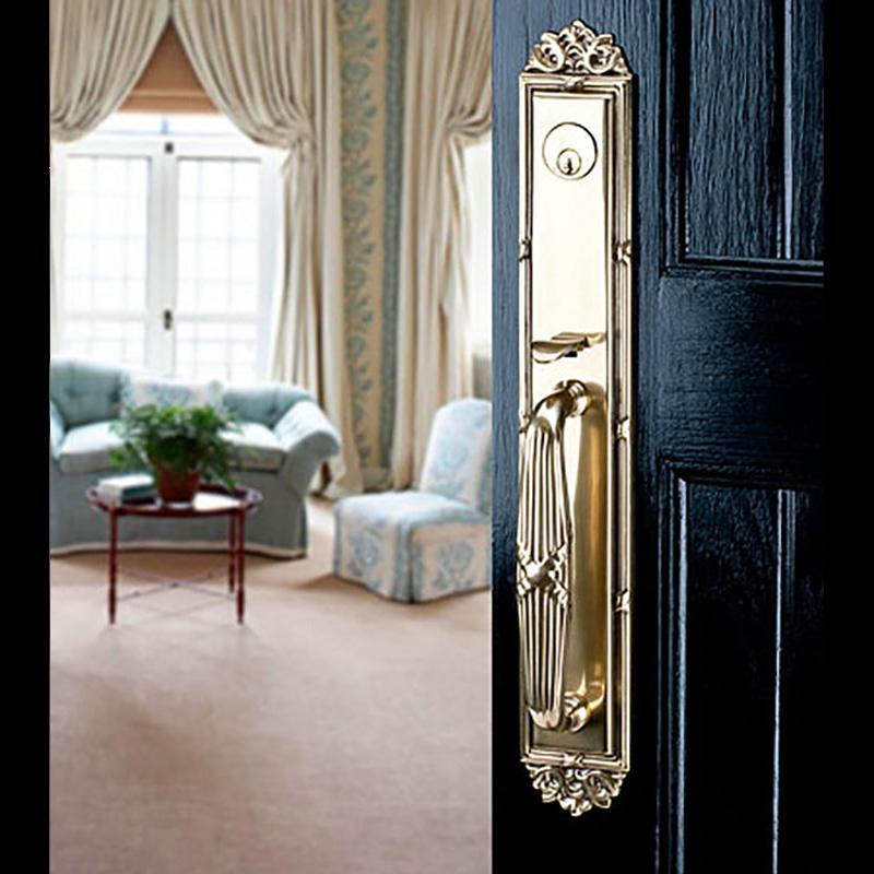 Emek Gold Door Handle Black Door Windows And Doors Inc
