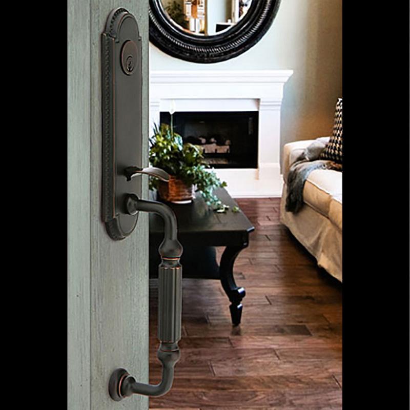 Emtek Door Handle Grey