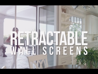 Retractable Wall Screens by Phantom Screens
