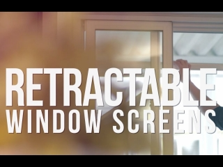 Retractable Window Screens by Phantom Screens